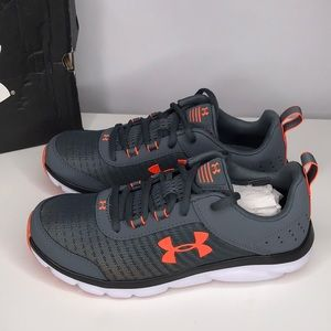 NWT! Under Armour Youth Assert 8 Athletic Sneakers